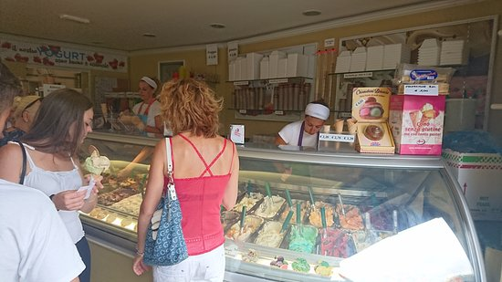 Gelateria Lariana: The variety