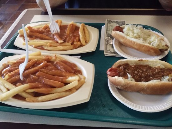 Clifton, NJ: One All the Way, One With Krout, and 2 orders of Frenchie with Gravy