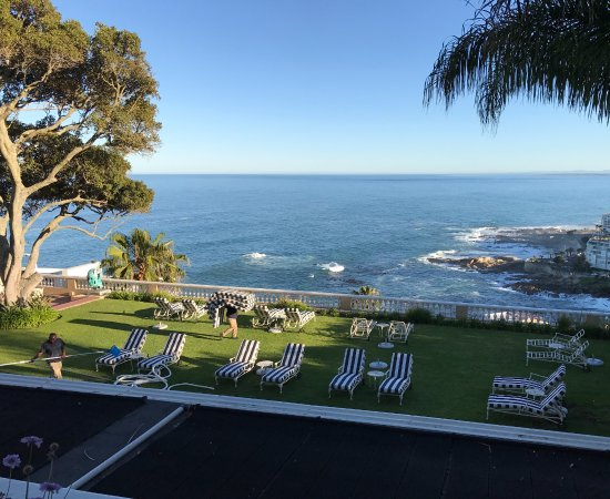 Bantry Bay, Sydafrika: View from lower floor room