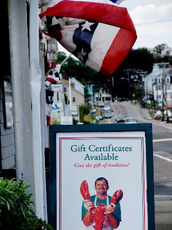 Essex, MA: Gift Cert Sandwich Board