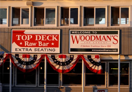 Essex, MA: Top Deck Sign