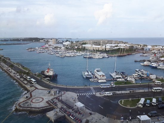 Sandys Parish, Bermuda: Royal naval dockyard