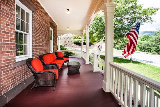 West Point, NY: porch