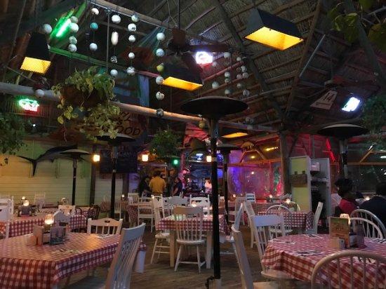Jensen Beach, Flórida: Outside Dining Area
