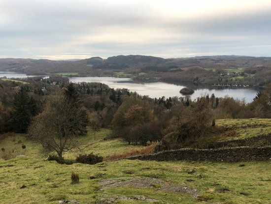 Bowness-on-Windermere, UK: View from the top