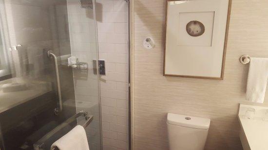 . Modern Shower and Bath   Picture of Hilton Denver City Center