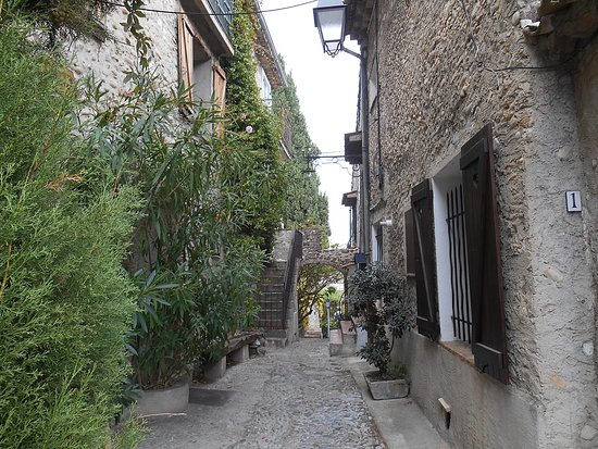 Haut de Cagnes : Steile straatjes