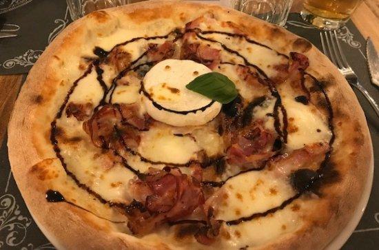 pizza tomino - bild von casa mia pizzeria italiana, albizzate