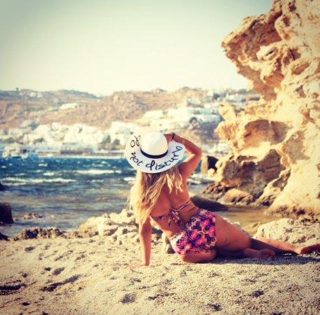Paraga, Greece: Beach