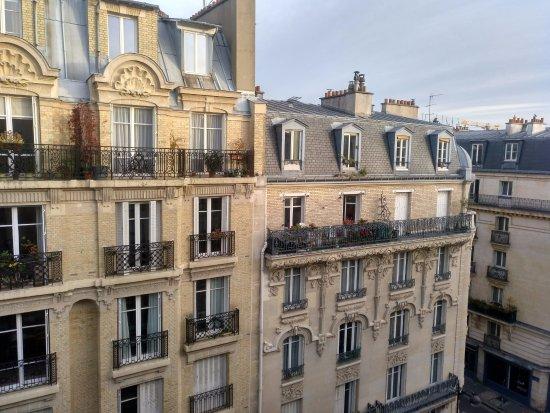 Ibis Paris Bastille Faubourg Saint Antoine 11eme: Vista do quarto (7.º andar)