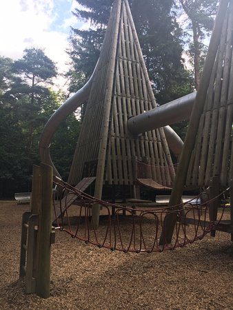 East Anglia, UK : playground... not only for kids