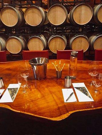 Chappellet: Wine tasting