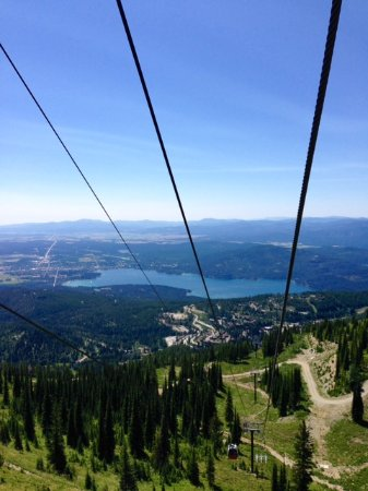 Whitefish, Montana: View From Gondola