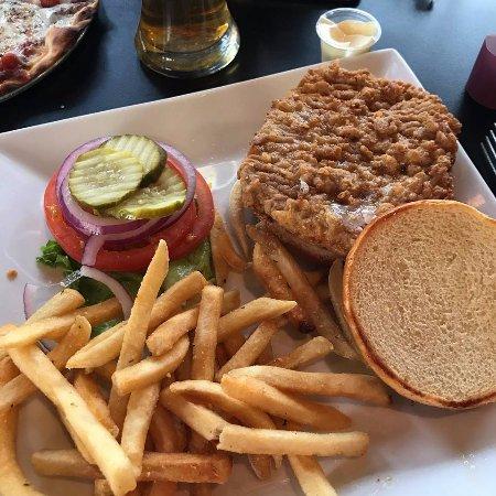 Greenwood, IN: Breaded pork tenderloin.
