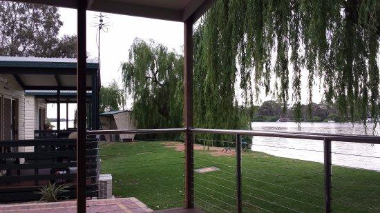 Mannum, Australia: View from Balcony
