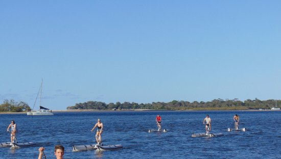 Noosaville, Austrália: awsome group ride with friends on Noosa River