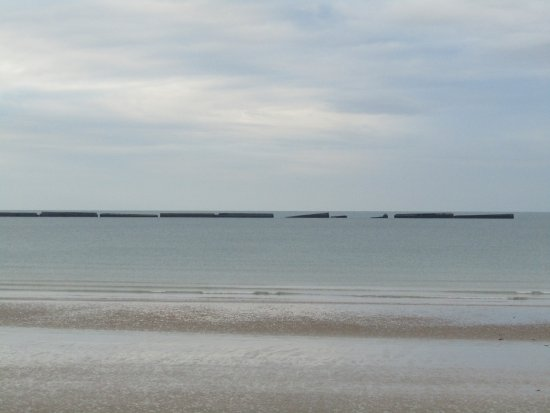 Parts of the actual Mulberry Harbour.