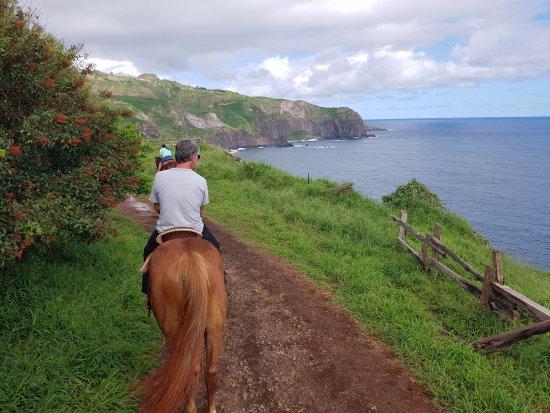 Wailuku, Χαβάη: The trail.