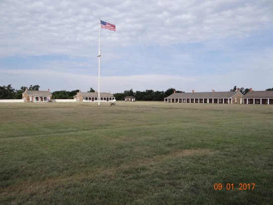 Parade Ground, Fort Larned