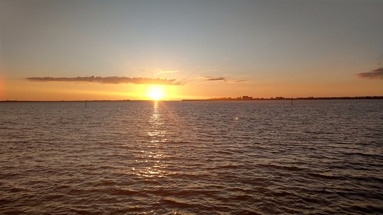 Cape Coral Yacht Club: Sunset
