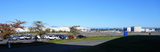 Mukilteo, WA: Vista da fábrica