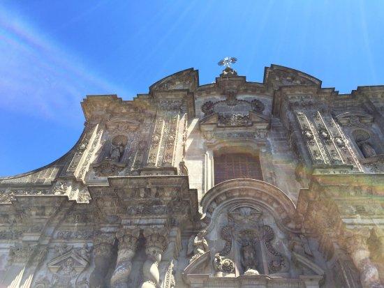 Iglesia de La Compania de Jesús: Uno de los iconos arquitectonicos mas importantes del nuevo mundo.