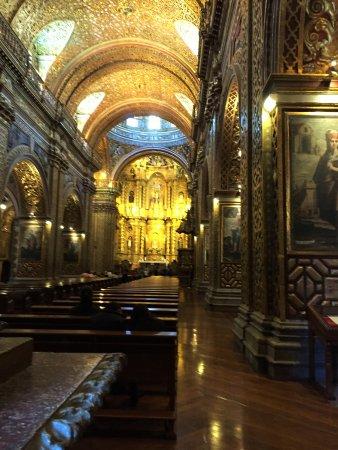 Iglesia de La Compania de Jesús: Otro estilo caracteristico que tiene la iglesia es el Mudejar o Morisco.