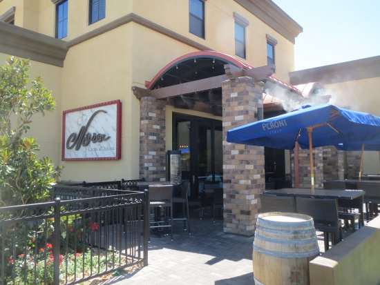 Nora's Cuisine: outdoor dining is available