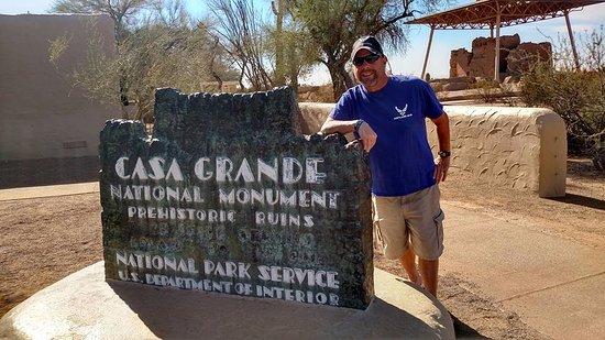 Comfort Inn: Casa Grande ruins, we saw next day nov 2017