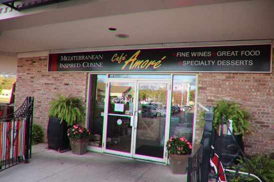 Cafe Amore St Catharines Menu
