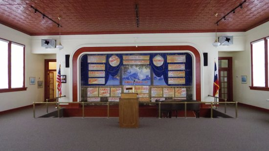 Chappell Hill, TX: Our auditorium hosts traveling exhibits and can be rented for special events!