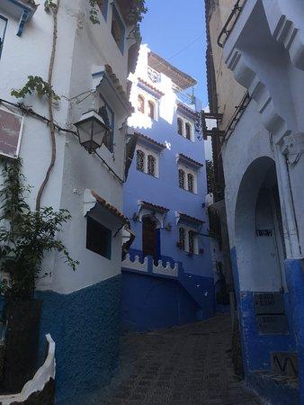 Marrakech-Tensift-El Haouz Region, Marocko: The Blue City