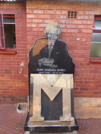Mandela House: In the courtyard