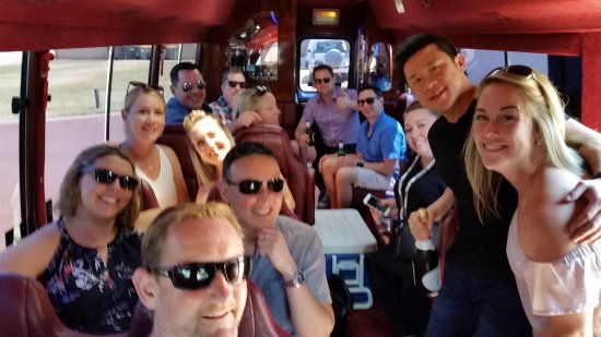 Margaret River Blue Bus: Top day for a private Wine Tour