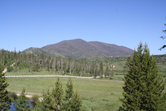 Fraser, CO: The valley and mountain offer incredible views!