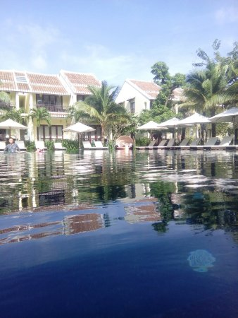 Hoi An Silk Village Resort & Spa by Embrace: Glorious pool, perfect spot to cool down after a stressful day, as if you could have one here.