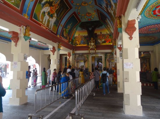 Inside the temple - Picture of Sri Mariamman Temple ...