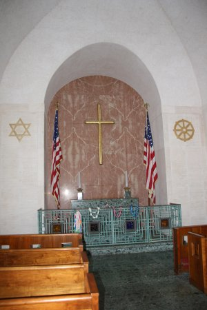 National Memorial Cemetery of the Pacific: The cemetery chapel.