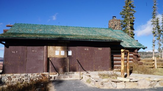 Cedar City, Γιούτα: Visitors' center and restrooms are closed during winter season
