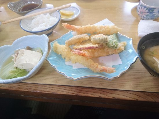 Kakogawa, Japan: 天ぷら定食(ランチ)