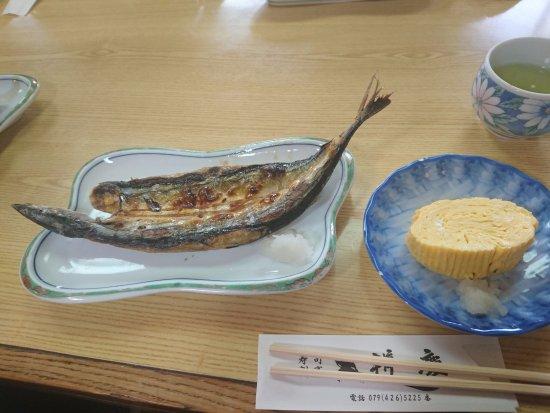 Kakogawa, Japan: 天ぷら定食(ランチ)の一品目