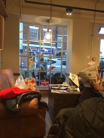 Louth, UK: Cafe Nero