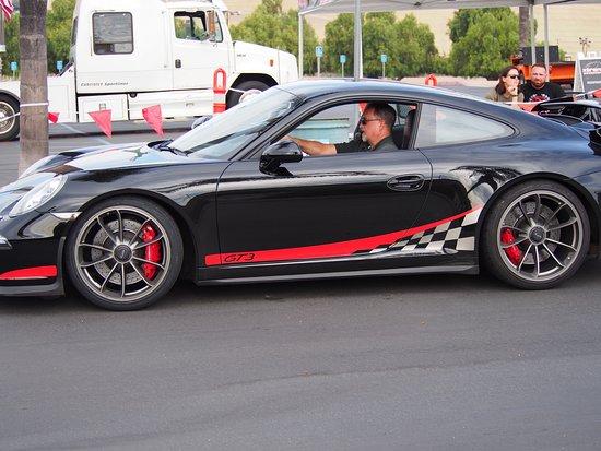 Τσούλα Βίστα, Καλιφόρνια: Me driving off in the Porsche 911 GT3