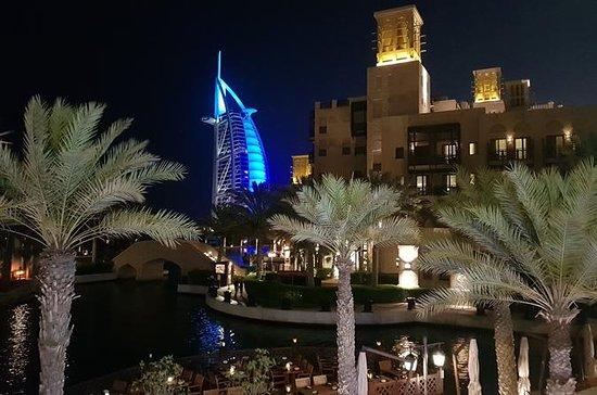 Tour pela cidade de Dubai à noite com...