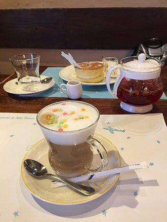 Le Petit Prince: Tea and coffee