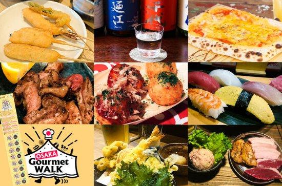 Caminhada Gourmet de Osaka