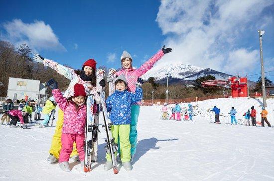Mt. Fuji Yeti Ski Tour at 2nd Station With Lesson Option