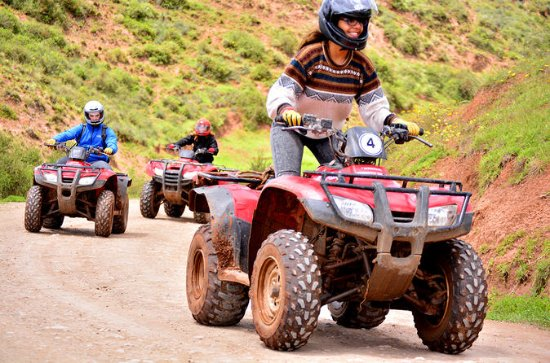 ATV Quad Bike Tour a Moray Maras y...