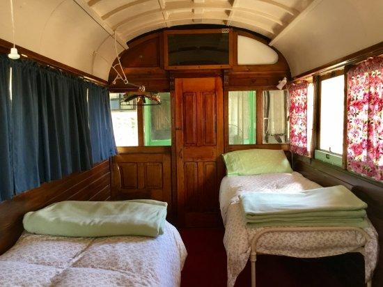 Wallaroo, Australia: Single Beds Tram 590