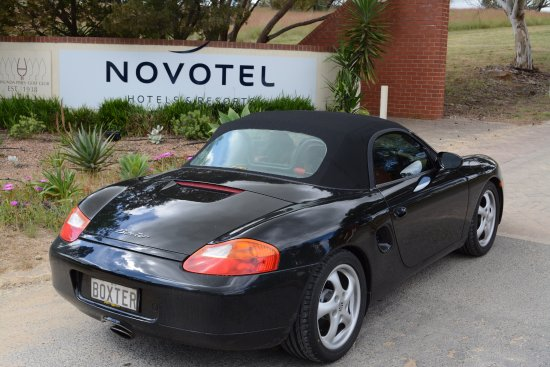 Rowland Flat, Αυστραλία: Arriving at the novotel